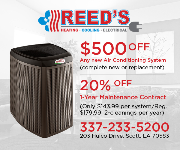 Reed's Heating-Cooling-Electrical